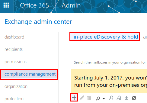 Exporting a Mailbox as a PST file using eDiscovery